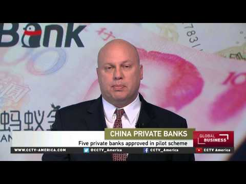 Derek Scissors of AEI discusses private banks in China