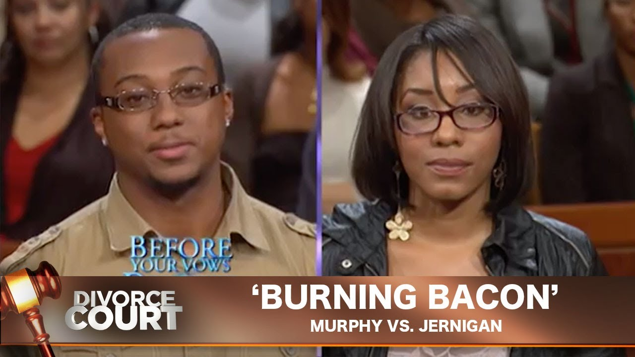 Vintage Divorce Court- Murphy Vs. Jernigan: Burning Bacon