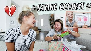 Saying Goodbye To My Best Friend! (giving Her Moving Away Presents)
