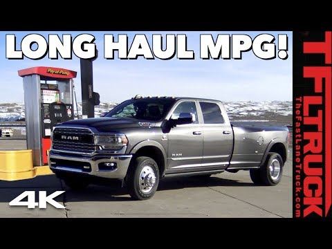 We Drive 800 Miles in the New 2019 RAM 3500: Here's How Fuel Efficient 1000 lb-ft of Torque Is!