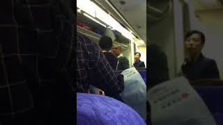 Crazy Chinese Dude on Air China