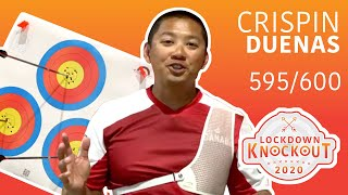 Crispin Duenas shoots 595/600 for qualification | Lockdown Knockout