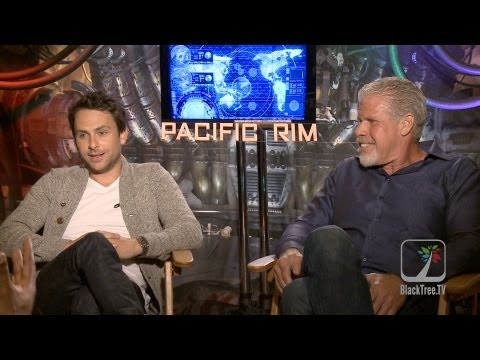 'Pacific Rim' Interviews with Charlie Day and Ron Perlman