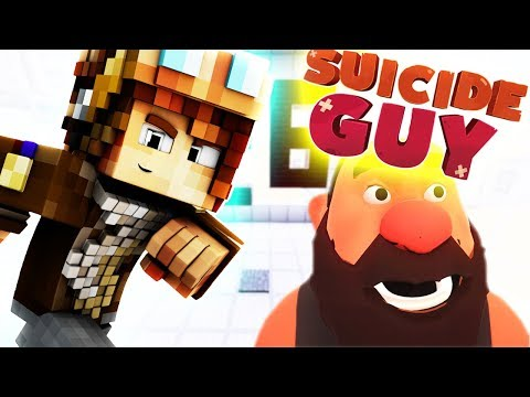 SUICIDE GUY DANS MINECRAFT !!
