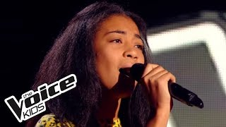 The Voice Kids 2015 | Shaina - Wrecking Ball (Miley Cyrus) | Blind Audition