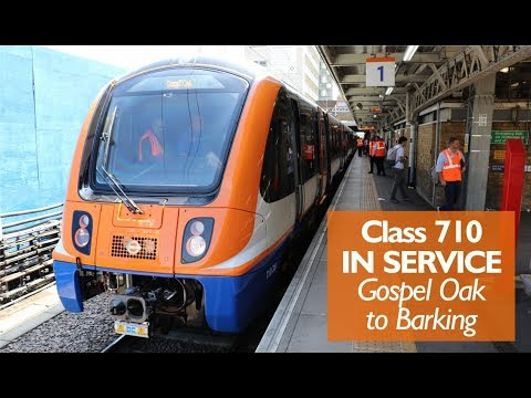 Class 710 Trains Now In Service - Gospel Oak To Barking