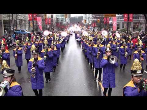 2015 Vancouver Canada Santa Parade