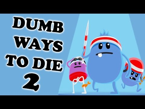 Прохождение Dumb Ways to Die 2 (ГЛУПЫЕ СПОСОБЫ УМЕРЕТЬ) Игра на Реакцию