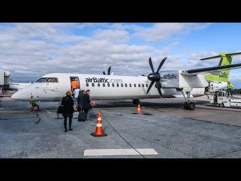 TRIP REPORT | Air Baltic | Bombardier Dash Q400 | Helsinki - Riga (HEL-RIX)
