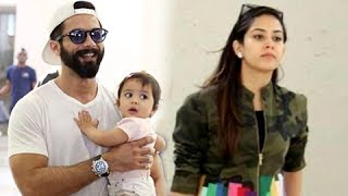 Misha Kapoor, Shahid Kapoor And Mira Rajput Spotted At New York Jfk Airport For