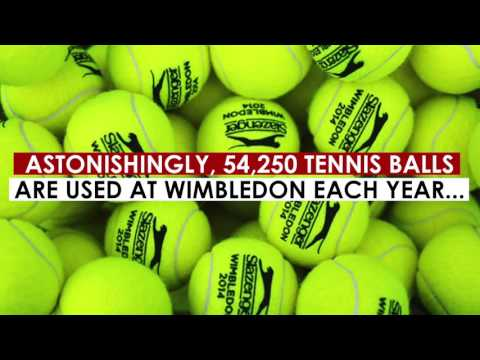 Wimbledon In Numbers!