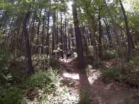 Mountain Biking At Sugar Bottom May 2013