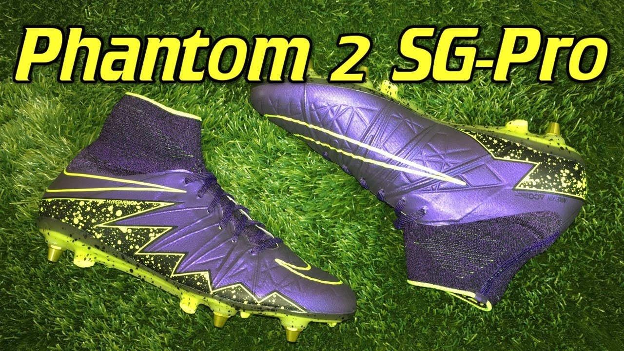 check out 6a78c 248b4 Nike Hypervenom Phantom 2 SG-Pro Electro Flare Pack - Review + On Feet