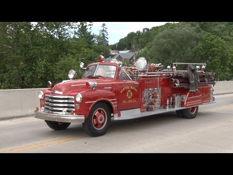 2017 Huntingdon County Pennsylvania Firemen's Parade  7/15/1