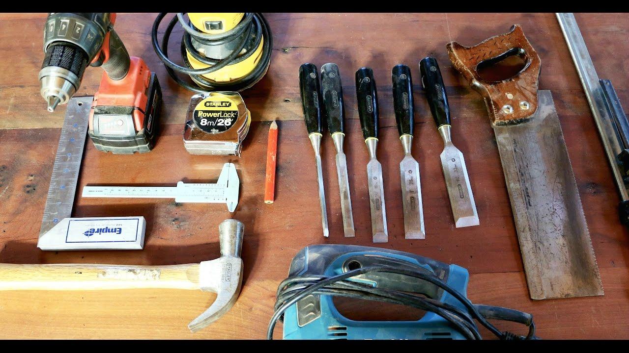 10 herramientas b sicas para comenzar en la carpinter a - Materiales de carpinteria ...