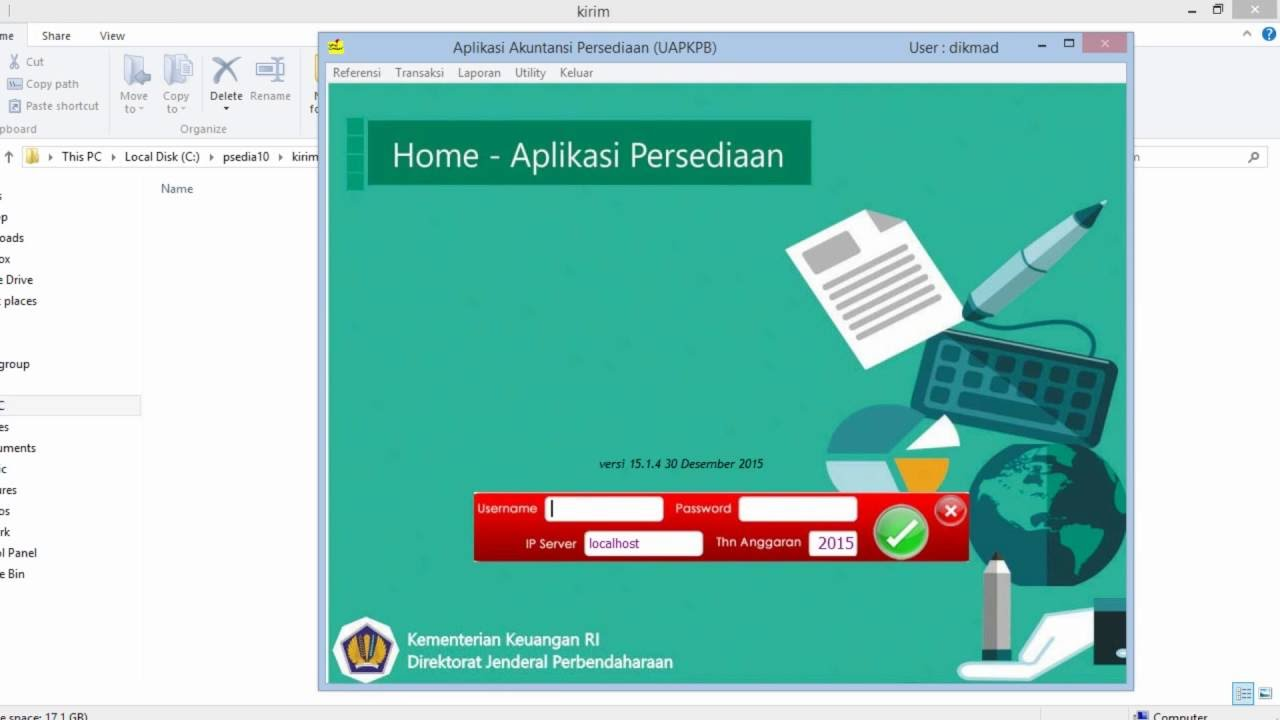 Petunjuk Pelaporan Persediaan Semester 1 Kemenag Bantul ...