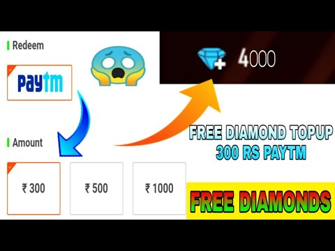 How to get free Diamonds Free fire|Get 300 RS paytm cash|Free TOPUP|Gaming Noob