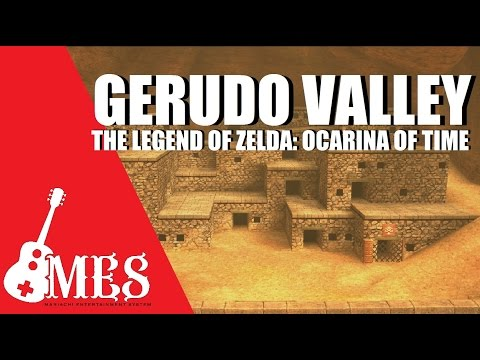 """Gerudo Valley (from """"The Legend of Zelda: Ocarina of Time"""") Mariachi Cover"""