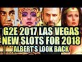 ★NEW SLOTS FOR 2018!!★ G2E 2017 LOOK-BACK W. NEW WALKING DEAD 3 Slot Machine (DEMO)