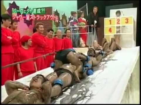 Японское шоу про мужское упорство