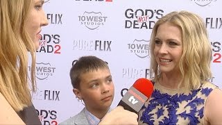 "Melissa Joan Hart Interview ""God's Not Dead 2"" Premiere Red Carpet #MelissaAndJoey"