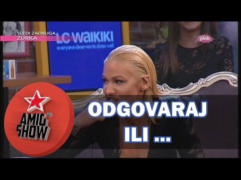 Odgovaraj ili... - Nataša Bekvalac (Ami G Show S11)