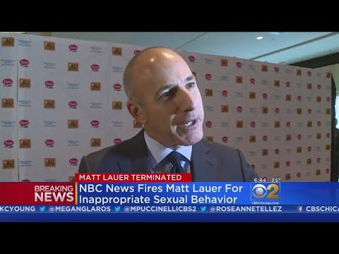 NBC News Fires Matt Lauer, President Trump Responds In A Tweet