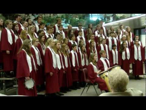 Mount Vernon High School Choir performs Dec. 12, 2012
