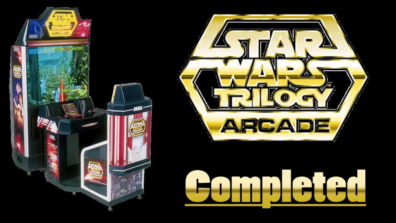 STAR WARS TRILOGY Arcade (Supermodel R619 Emulator