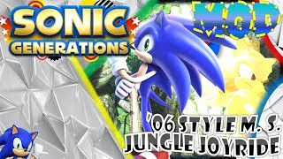 Sonic generations pc old beta unleashed sonic in rooftop run