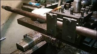 Baixar Cum se face un canal de pana pe strung | How to make a shaft keyway on lathe