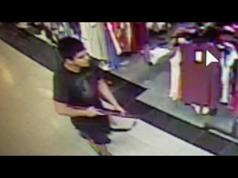 Manhunt for Washington mall shooter underway