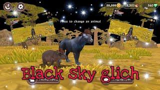 WildCraft: Black Sky Glitch