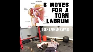6 Moves for a Torn Shoulder Labrum | SmashweRx | Trevor Bachmeyer
