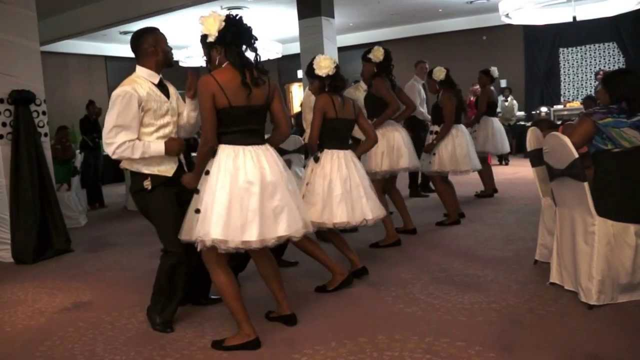 Zambian Exclusive Wedding Entrance Dance Part 1