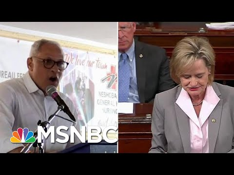 Mississippi Sen. Hyde-Smith Caught On Video Joking About 'Public Hanging' | Craig Melvin | MSNBC