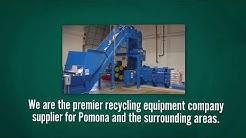 Cardboard Baler Sales and Service in California   Precision Scrap Handling System