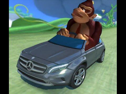 drivin around in a fancy car