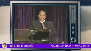 Congratulations Bishop Calhoun on 8 Years!!!