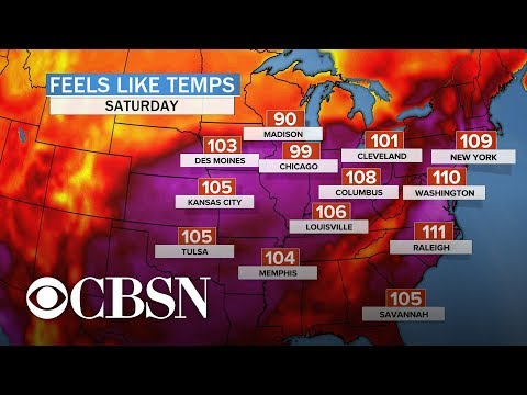 Heat wave expected to break temperature records in at least 14 states