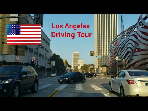 Los Angeles Driving Tour: Movie Screening in Beverly Hills & Supreme Store Line on Fairfax Avenue
