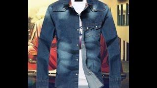 Джинсовые рубашки с длинным рукавом. Стильная мужская, джинсовая рубашка - тренд 2015 года(Купить джинсовые рубашки с длинным рукавом http://lnk.do/Wlvay. Стильная мужская, джинсовая рубашка новинка 2015..., 2015-03-30T22:48:27.000Z)