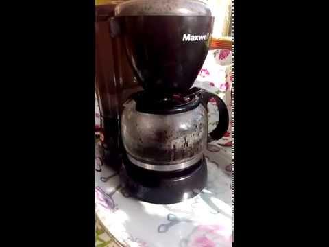 Кофеварка Maxwell от Орифлэйм (варим кофе)
