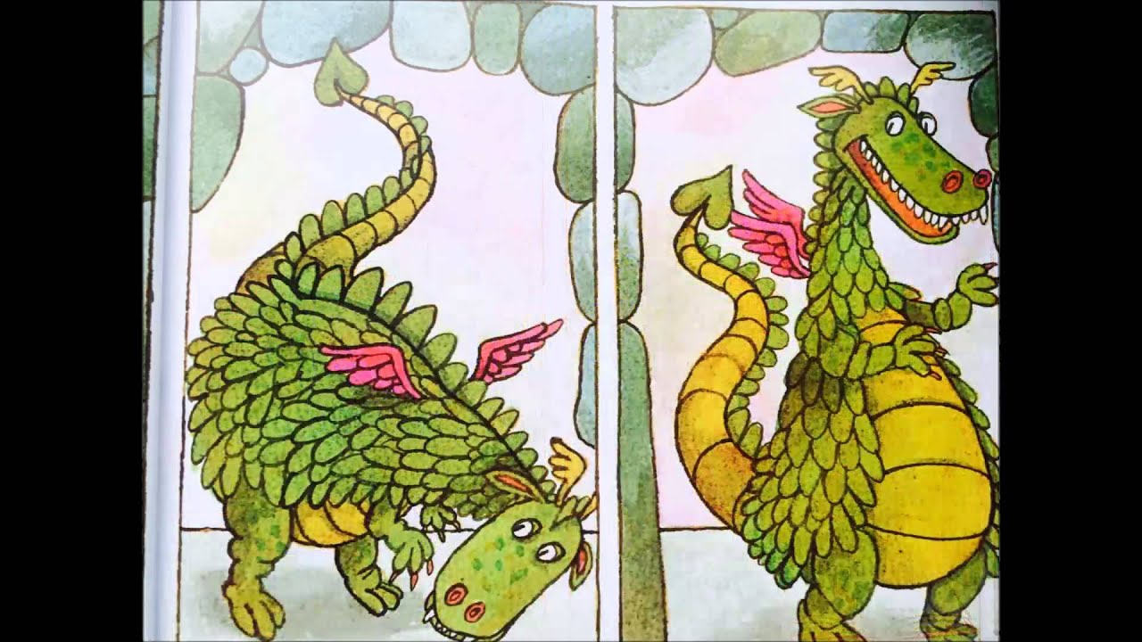 The Knight and the Dragon by Tomie DePaola - YouTube