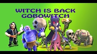 Clan war | GOBOWITCH | 3 star attack strategy for TH10 | Clash of clans | Invictus Kings