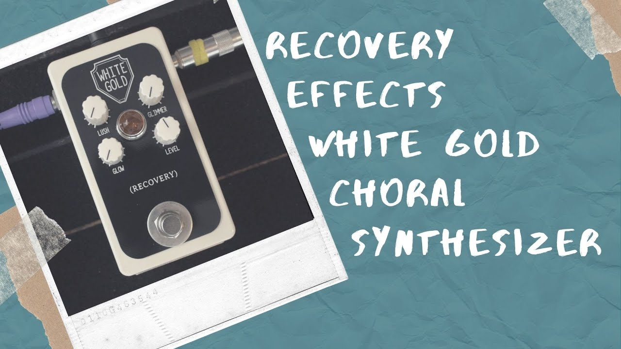 Recovery Effects White Gold Demo and Review on Guitar Bass and More