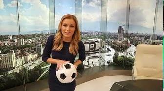 Чаровната водеща на спортните новини - Николета Маданска