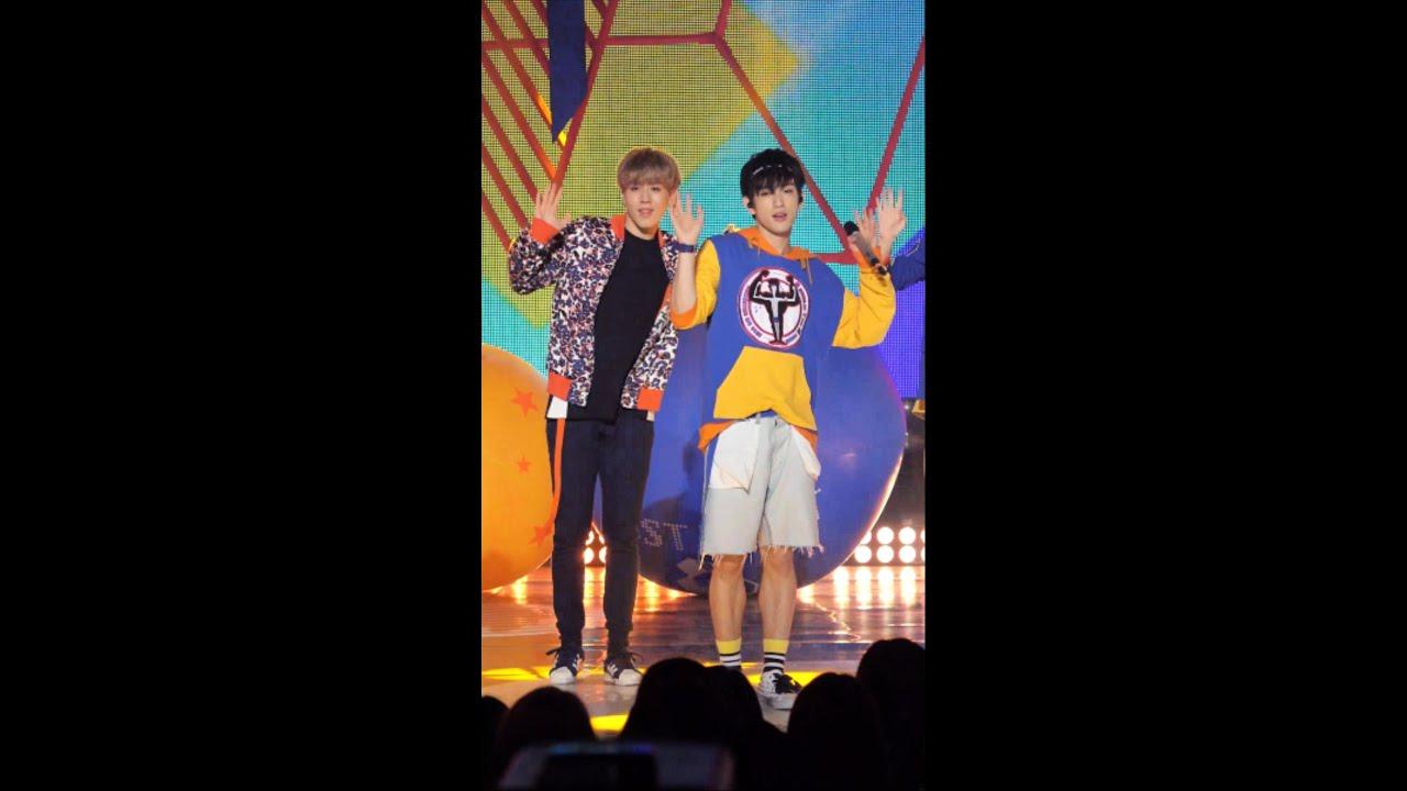 """[Junior 직캠(Fancam)] GOT7 """"딱 좋아(Just right)"""" Stage @ MBC ..."""