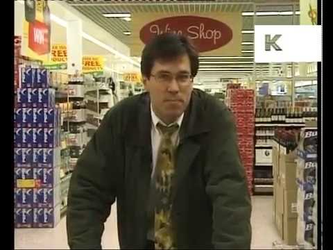 1990s News Report on EU Rules for Supermarket Shopping Trolleys