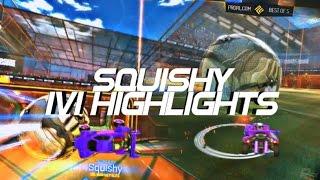Squishy 1v1 Highlights @ PRL Showdown - Rocket League